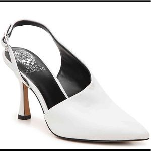 """Vince Camuto Leather Pumps (New) 3¾"""" Heel"""